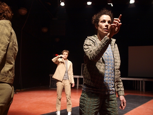 "BADco. ""Is There Life on Stage?"", 2012, photo: Tomislav Medak"